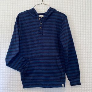 boys lucky brand hooded pullover henley style